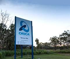Orica Yarwun entrance
