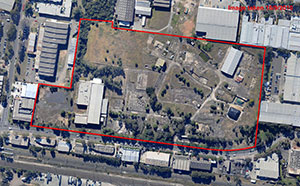 Click for large aerial view of Orica Villawood