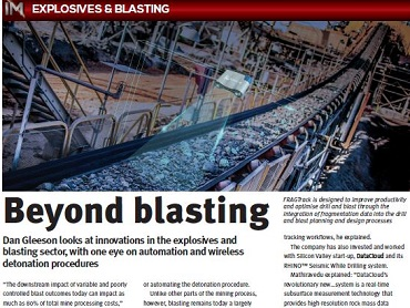 International Mining Beyond Blasting
